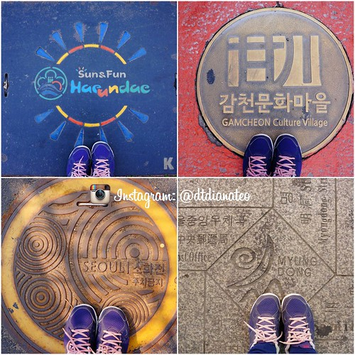 Instagram South Korea Manhole Signature Pose