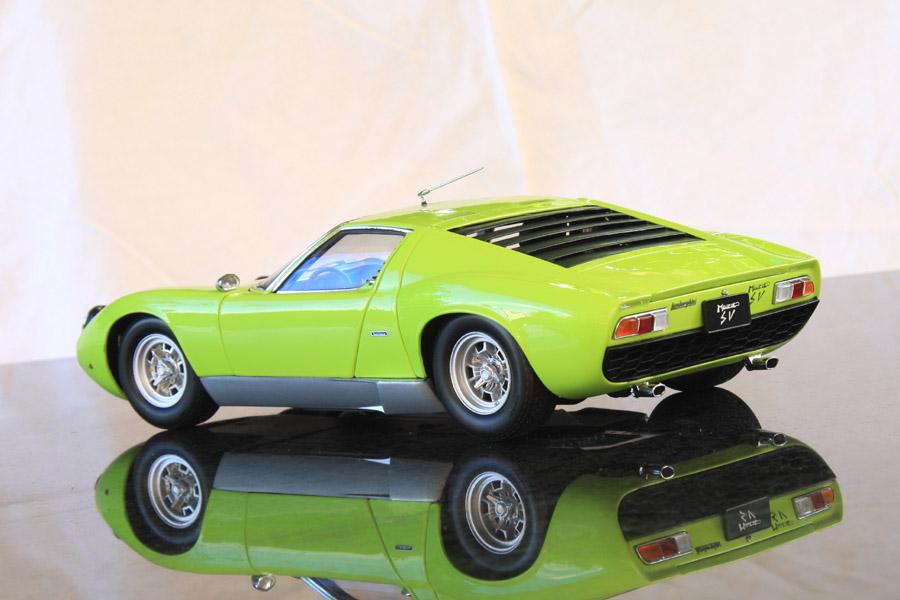 Kyosho 1 18 Lamborghini Miura Sv Green Lamborghini