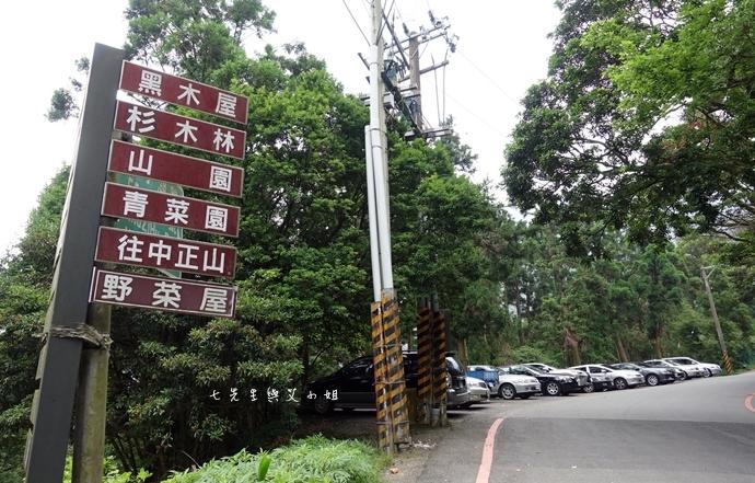 2 陽明山 青菜園 野菜餐廳 繡球花