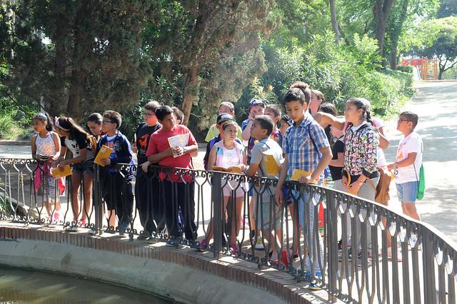 Escolars al Parc de Can Vidalet #Esplugues