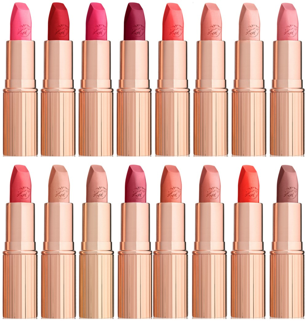 CharlotteCharlotte Tilbury Hot Lips Collection Tilbury Hot Lips Collection Shades