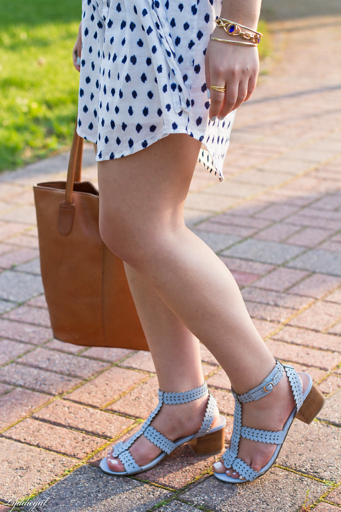 polka dot dress, straw fedora, blue sandals-7.jpg