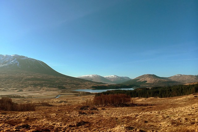 Loch Tulla - from the Viewpoint near Achallader, Argyll & Bute