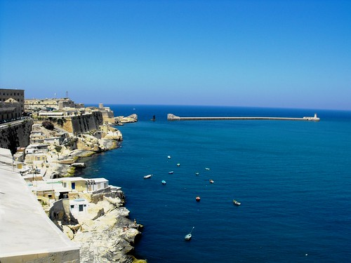 The Entrance to the Grand Harbour, Malta