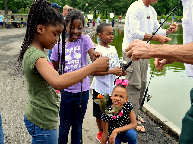 2016 Urban Kids Fishing Derby Washington DC .
