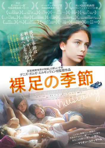 映画『裸足の季節』ポスター
