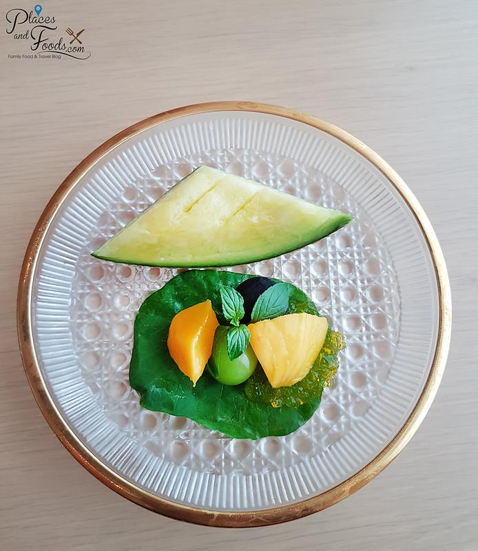 ginza tenkuni apricot lunch set dessert