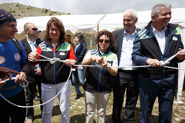 Opening of White Trail within the Via Dinarica