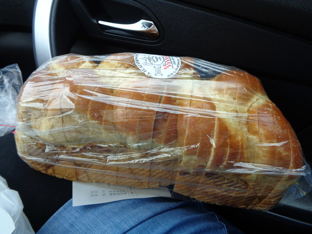 Challah from Three Brothers Bakery in Houston