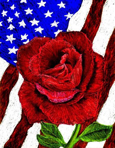 Memorial Rose
