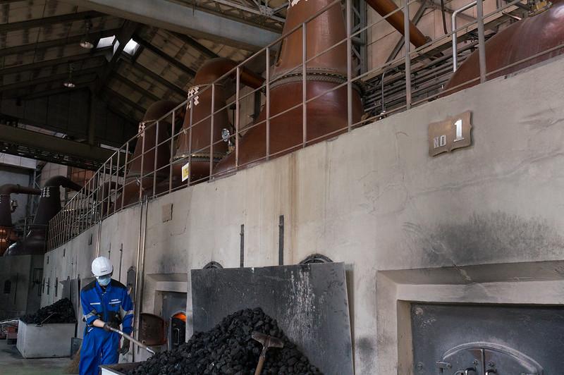 ニッカウヰスキー 余市蒸留所、こだわりの象徴「石炭直火蒸溜」