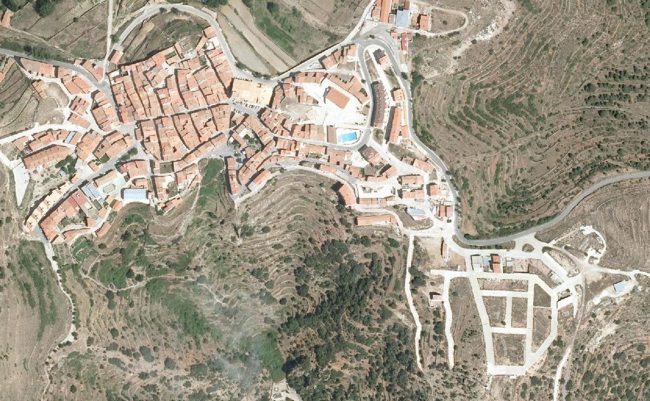 vistabella del maestrat, castellón, master's pretty look, después, urbanismo, planeamiento, urbano, desastre, urbanístico, construcción, rotondas, carretera