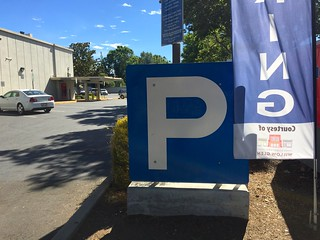 Lincoln Avenue parking sign at Lincolnshire Way Willow Glen June 2016