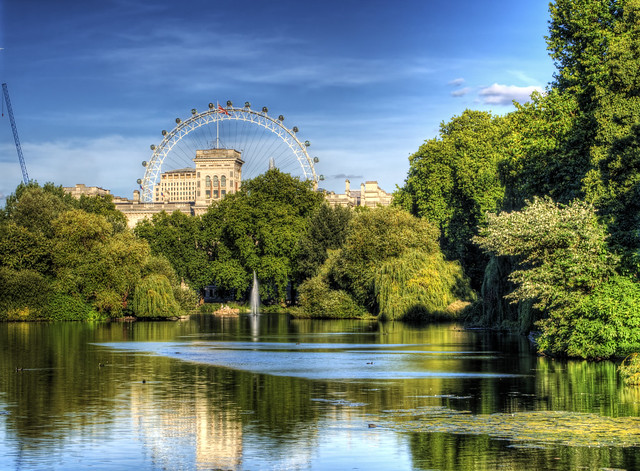 photo of St. James Park in London