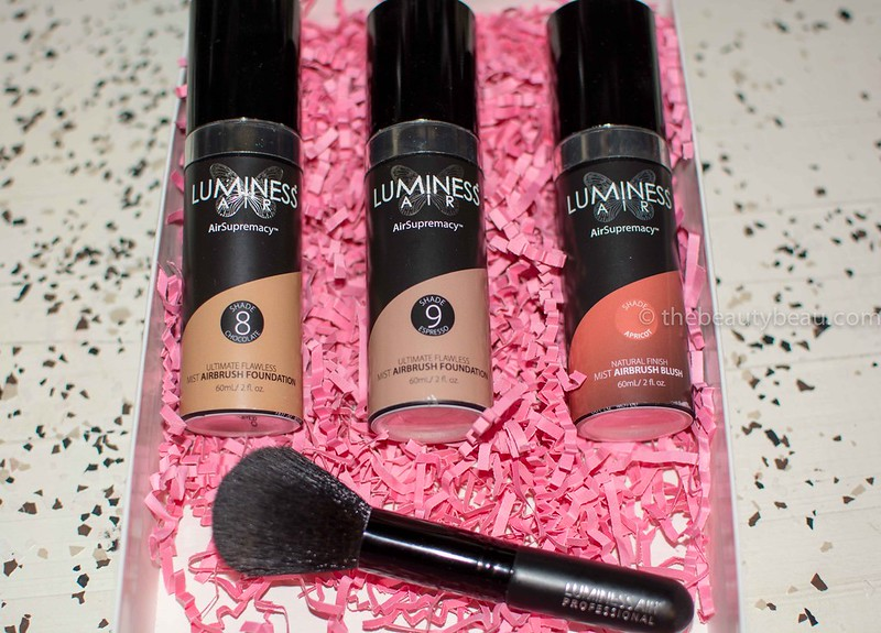 luminess air mist foundation review