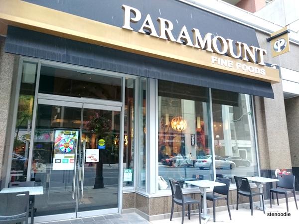 Paramount Fine Foods Yorkville exterior