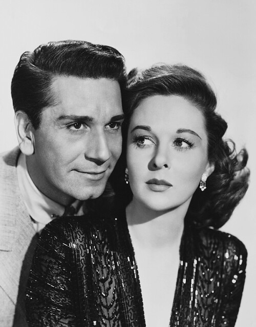 House of Strangers - Promo Photo 2 - Richard Conte & Susan Hayward