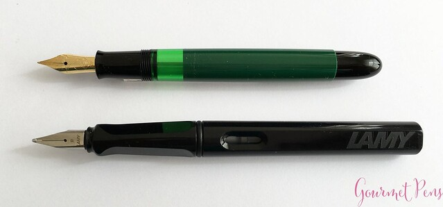 Review Pelikan M120 Green & Black Fountain Pen @couronneducomte 7
