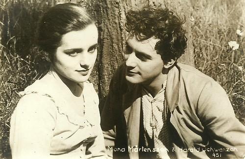 Mona Martenson and Harald Schwenzen