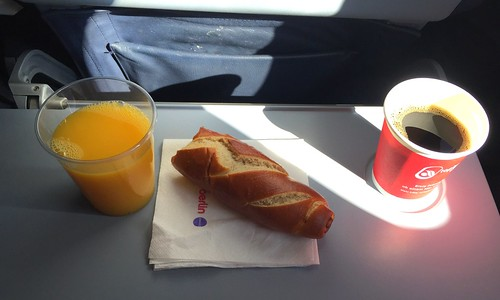 Snack Kurzflug Air Berlin