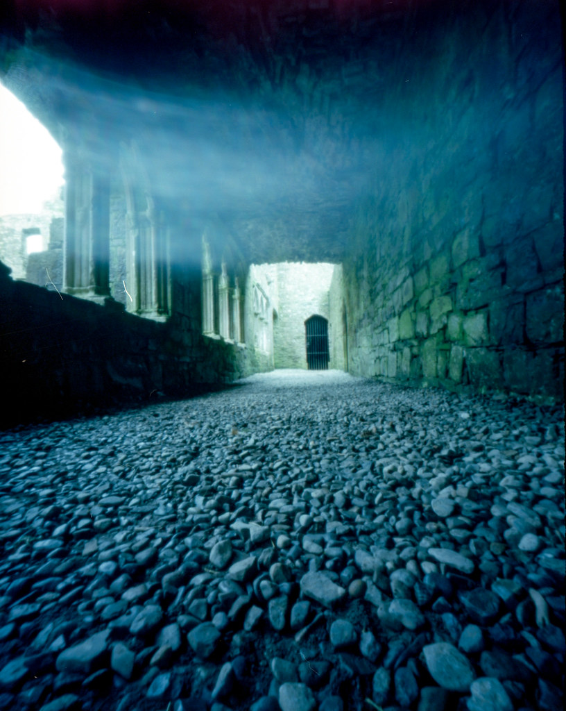 The Ghost of Bective Abbey