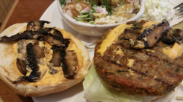 2016-Jun-24 White Spot - Portobello Burger
