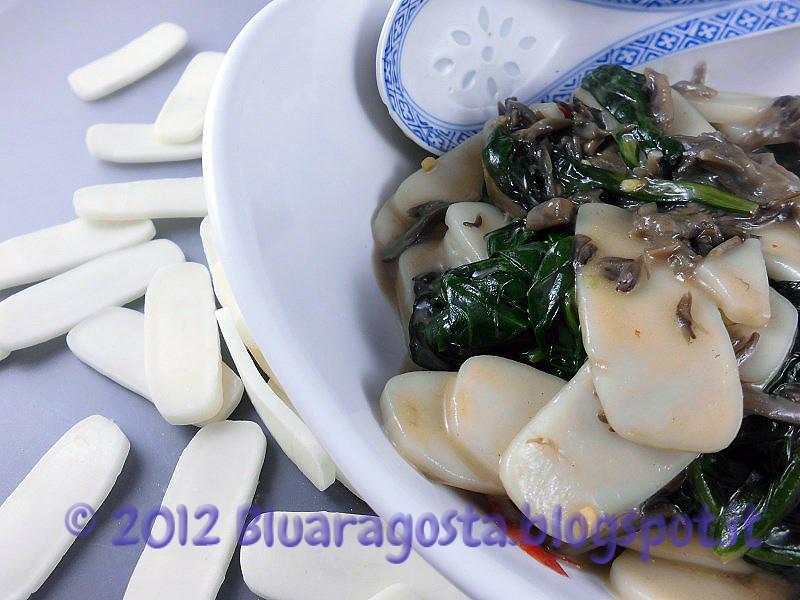 02-gnocchi cinesi di riso con funghi maitake