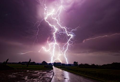 Thunderstorm, Rosendahl, Germany, 24-06-2015