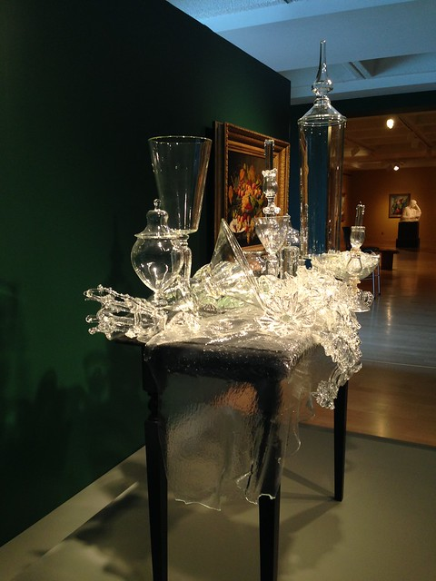 Beth Lipman: Flowers, Bread, Chalice and Sticks, Hunter Museum of Art, Chattanooga TN