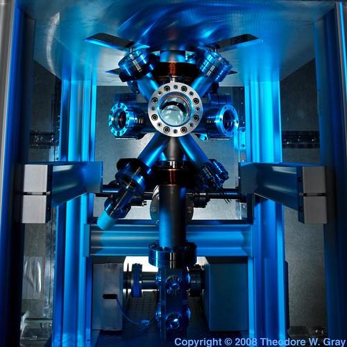 Reloj atómico F1 en el NIST