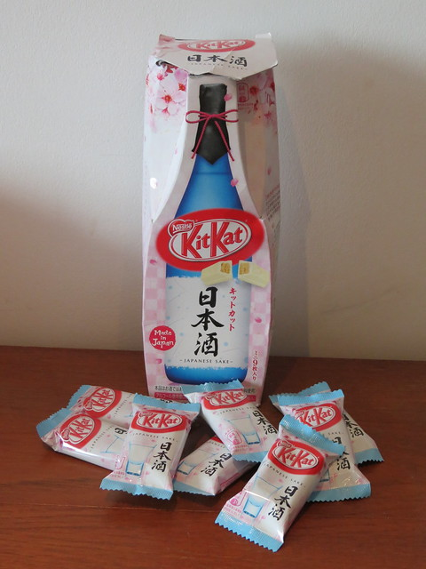 Sake Kit Kats (Japan)