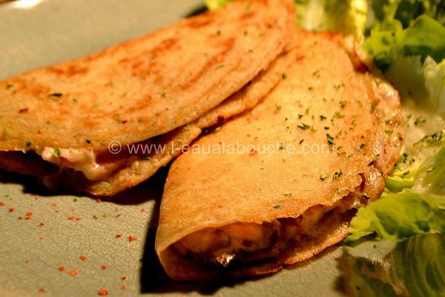 Délices au Fromage Jambon, Lard & Champignons © Ana Luthi Tous droits réservés 20