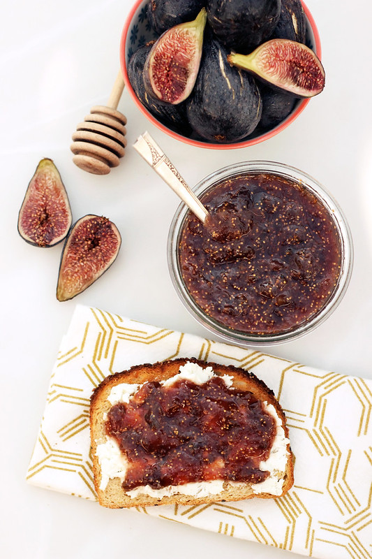 Fig Honey Jam - Gluten-free + Refined Sugar-Free