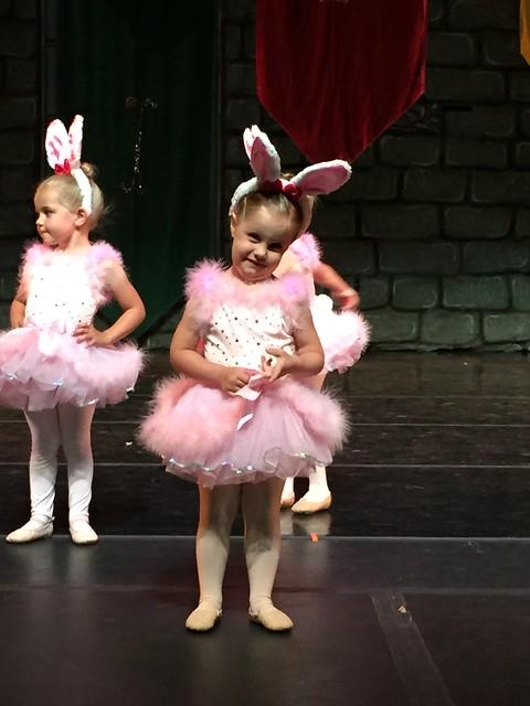 Bunny's 1st Ballet Recital