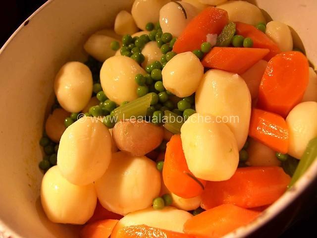 Saumon Poêlé & Moules à la Crème Petits Légumes © Ana Luthi Tous droits réservés 09