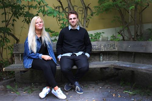 Stanna här och lyssna med Amanda och Fredrik