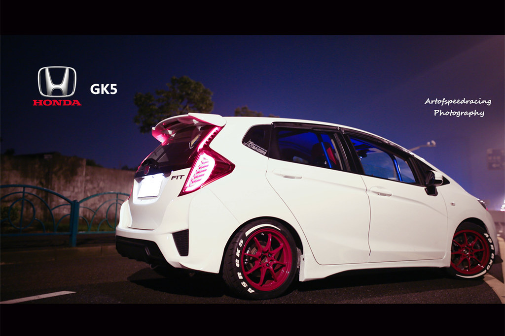 white orchid pearl  gk rabbit unofficial honda fit