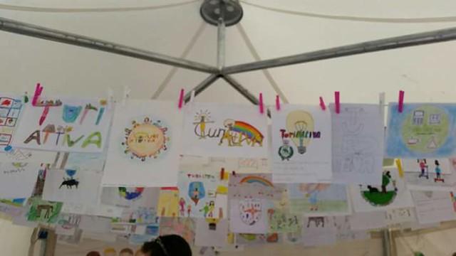 Turi attiva i disegni degli alunni in mostra