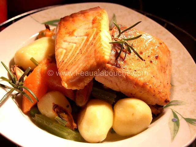 Saumon Poêlé & Moules à la Crème Petits Légumes © Ana Luthi Tous droits réservés 15