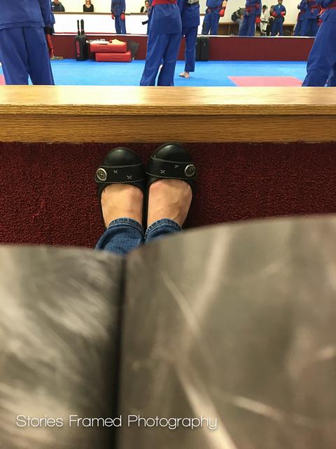 293. | feet up, mag down.
