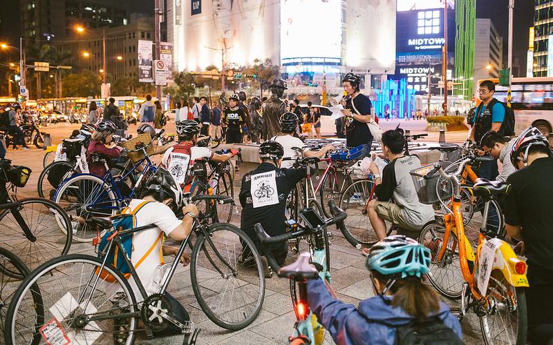 台灣沈默的騎行 2016年 | Ride of Silence Taiwan 2016