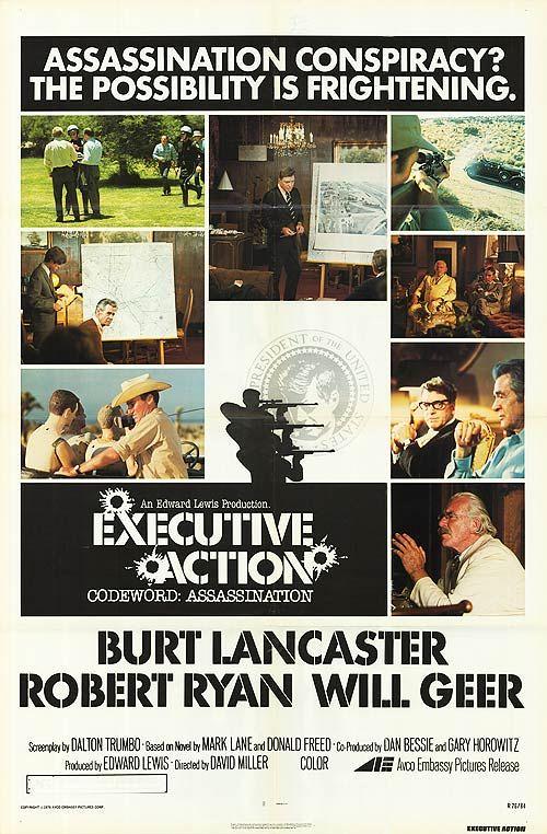 Executive Action - Poster 5