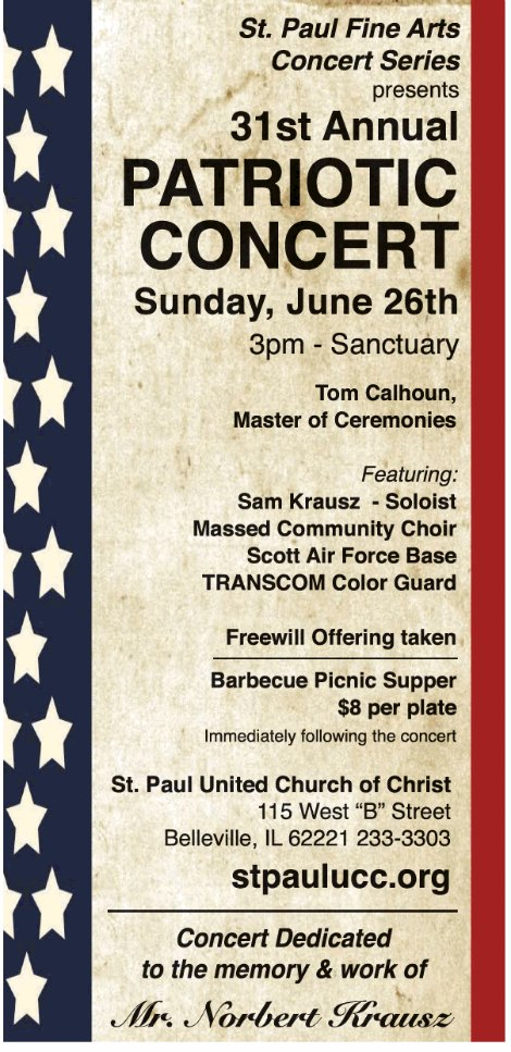 St Paul Patriotic Concert 6-26-16