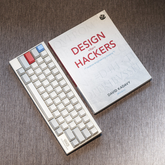 Design for Hackers & Happy Hacking Keyboard