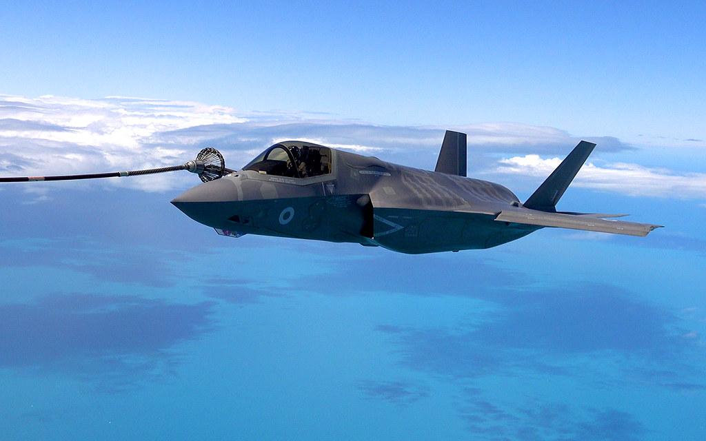 F-35 Over UK - Media Flight