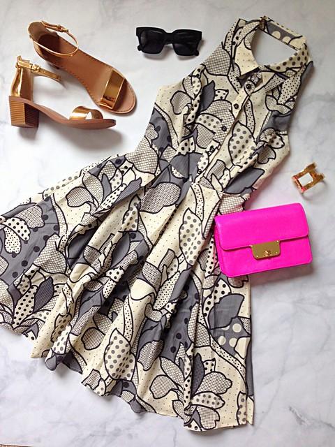 florie halter dress