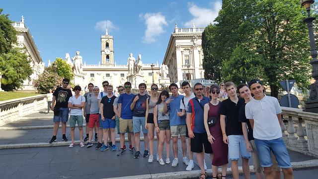 Bachillerato. Viaje a Roma