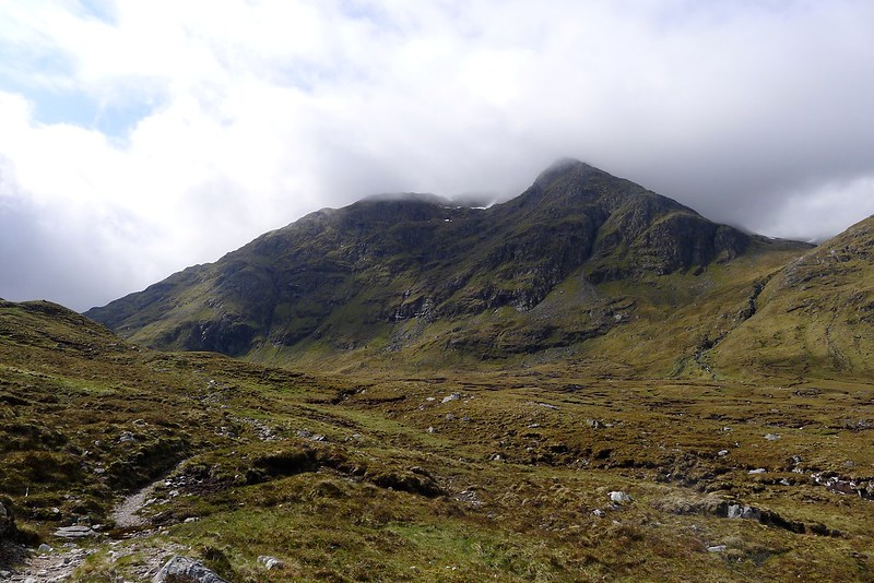 North east view of Sgurr Breac