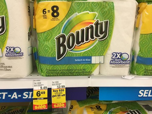 Bounty Paper Towels at Meijer