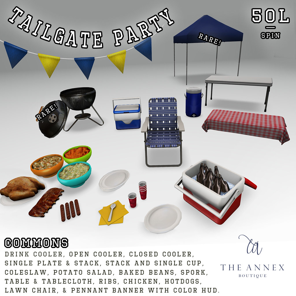 THE ANNEX TAILGATE PARTY GACHA KEY